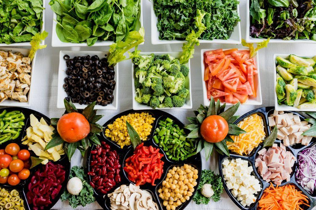 légumes salades oléagineux
